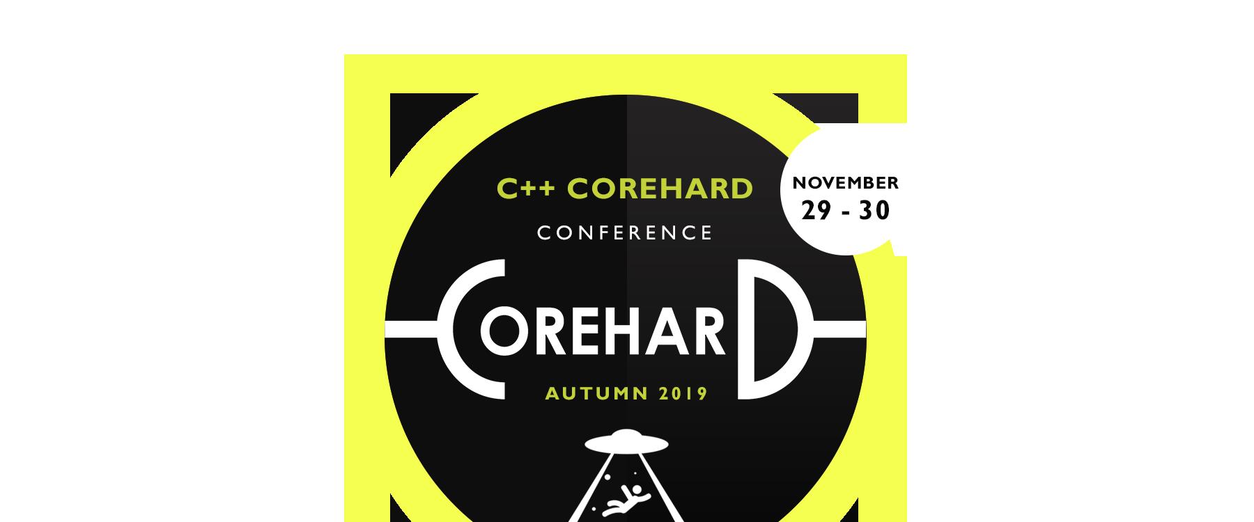 C++ CoreHard Autumn 2019